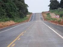 trecho asfaltado